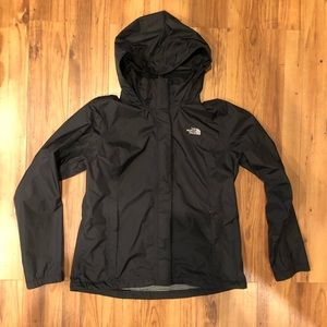 The North Face large women's raincoat unlined